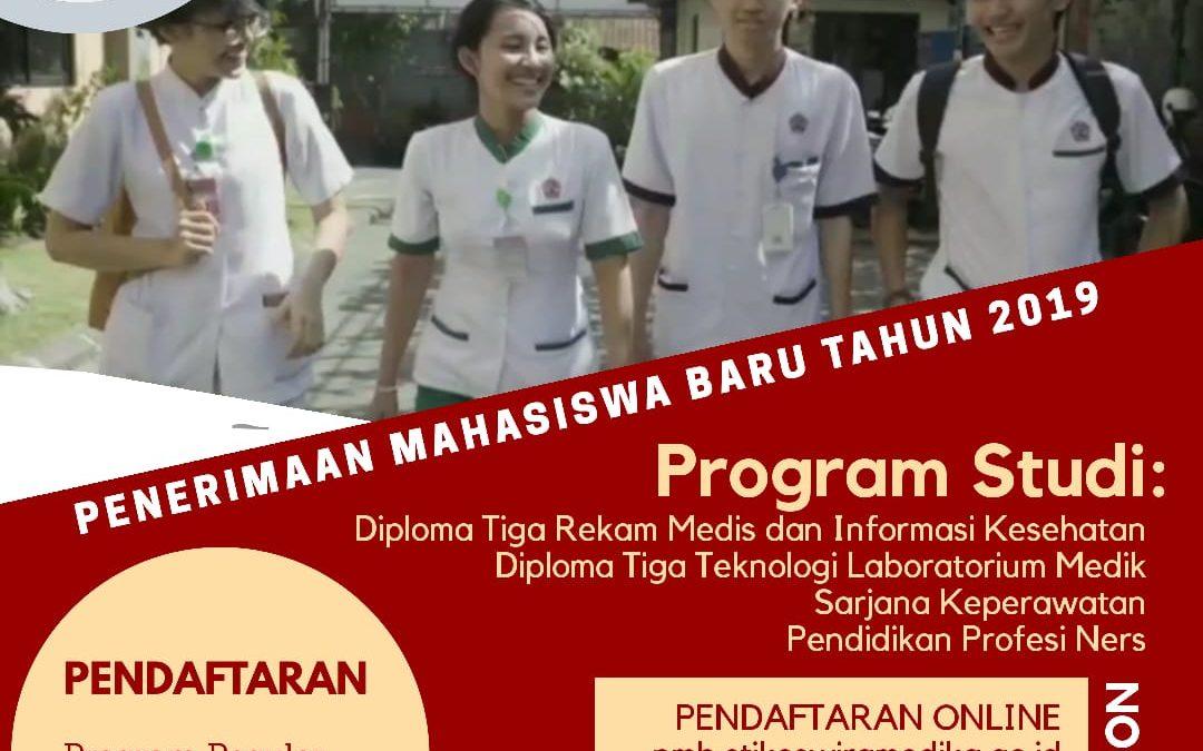 Penerimaan Mahasiswa Baru Tahun 2019